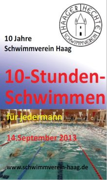 Download Flyer Zehnstundenschwimmeen